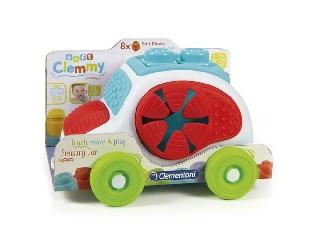 Clementoni: Clemmy soft autós tároló 8 kockával