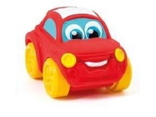 Clementoni: Gumi kisautó piros kicsikocsi