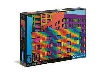 Clementoni négyzetek -Colorboom 500 db