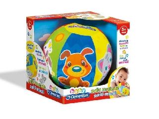 Clementoni: Puha, állatos zenélő labda