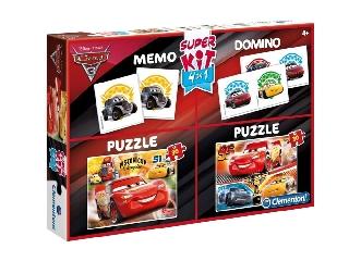 Clementoni Puzzle 2x30+Memo+Domino Verdák