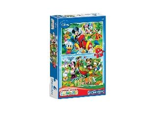 Clementoni Puzzle 2x60 db-os - Mickey Farm kalandjai