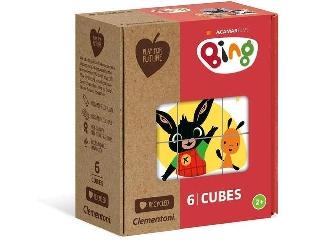Clementoni Bing 6 darabos kockakirakó