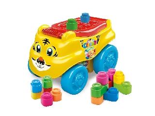 Clemmy Baby - Tigriskocsi puha építőkockákkal