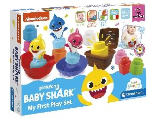 Clemmy Baby -Baby Shark játékszett