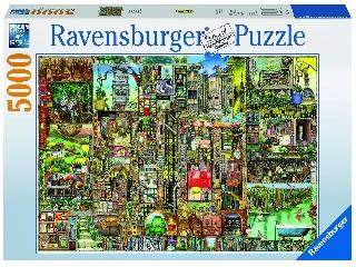 Colin Thompson: Bizarr város 5000 darabos puzzle