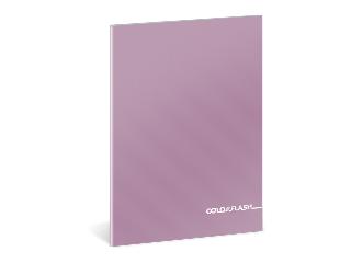 Colorflash metál kockás füzet A/5