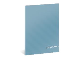 Colorflash metál sima füzet A/5