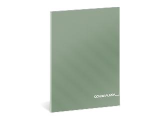 Colorflash metál vonalas füzet A/5