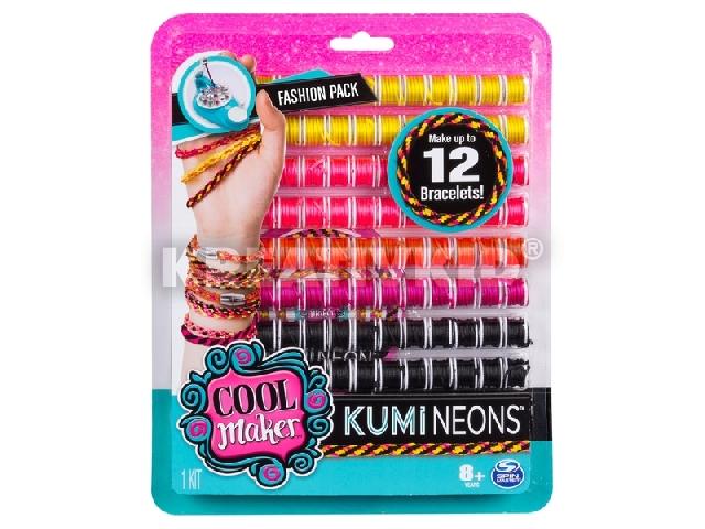 Cool Maker Kumi kreator karkötőkészítő kiegészítő - Kumi Neons