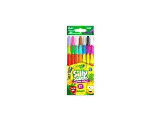 Crayola 21 db-os illatos, csavarható viaszkréta