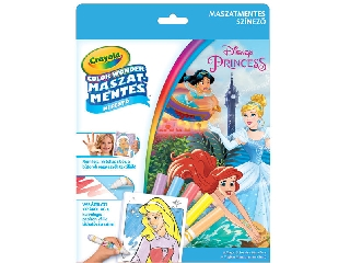 Crayola Color Wonder - Disney Hercegnők kifestő