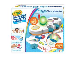 Crayola Color Wonder - Világító Nyomdavarázs
