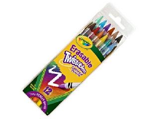 Crayola csavarozható színes ceruza - 12 db-os