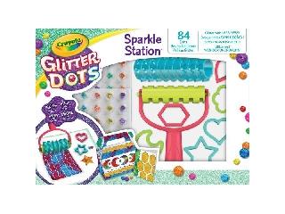 Crayola - Glitteres Dekorgyöngyök: Kreatív csillámkészlet