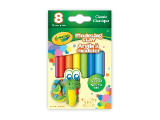 Crayola gyurma 8 db, klasszikus