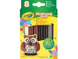 Crayola gyurma 8 db, natúr