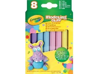 Crayola gyurma 8 db, pasztell