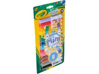 Crayola: Kimosható Pip-Squeaks 14 db-os filckészl.