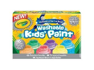 Crayola Metál festék 6 db-os készlet