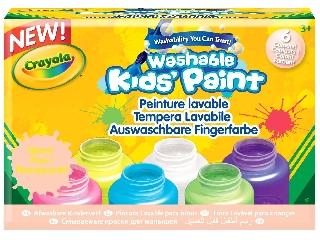 Crayola Neon festék szett - 6 db-os