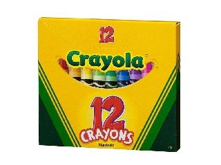 Crayola Zsírkréta készlet - 12 db-os