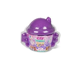 Cry Babies varázs könnyek - lila cumisüveg házikóban - II. széria