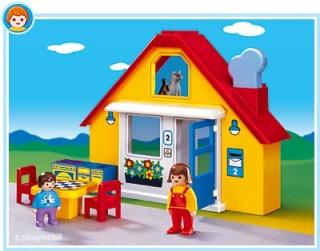 Családi ház kicsiknek