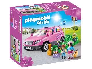 Playmobil - Családi kiskocsi parkolóhellyel