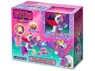Csillogó filly csillagpóni – játékszett dobozban