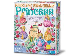 Csillogó hercegnő gipszkiöntő készlet