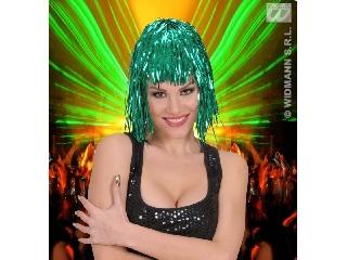 Csillogó paróka - zöld