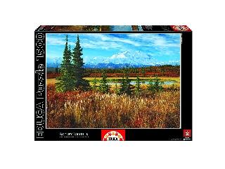 Denali Park - Alaszka 1500 db-os puzzle