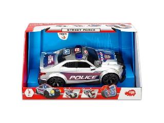 Dickie: Street Force rendőrautó fénnyel, hanggal