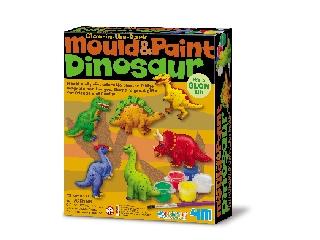 Dinoszaurusz gipszkiöntő - kreatív készlet 4M