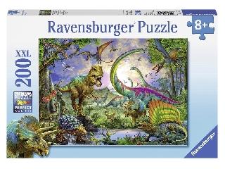 Dinoszauruszok földjén - 200 db-os XXL puzzle