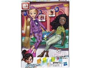 Disney Hercegnők - Aranyhaj és Tiana modern ruhában