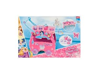 Disney hercegnők teás szervírozó kocsi, 17 kiegészítővel