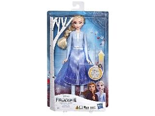 Disney hercegnők: Jégvarázs 2 - világító Elza baba