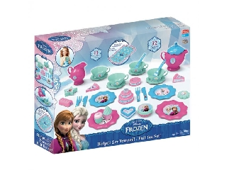Disney Jégvarázs játék teáskészlet, 32 darabos