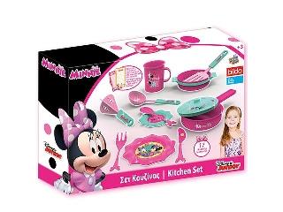 Disney Minnie egér konyhai étkészlet, 17 darabos