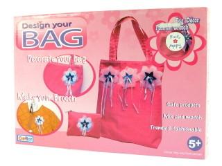 Díszíthető táska (kitűzős)