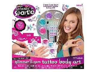 Divat Csillám Tetoválás készlet