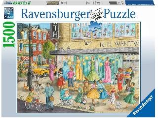 Divatos séta puzzle 1500 db-os