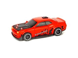 Dodge Challenger SRT Hellcat kisautó - 15 cm piros