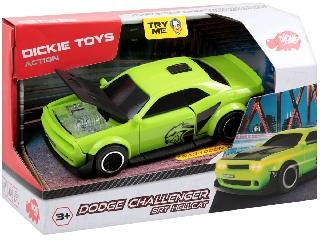 Dodge Challenger SRT Hellcat kisautó - 15 cm zöld
