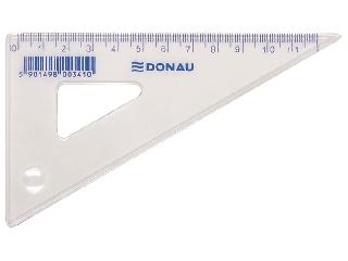 Donau - Műanyag háromszög vonalzó - 12 cm