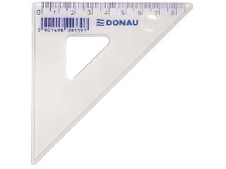Donau - Műanyag háromszög vonalzó - 8,5 cm