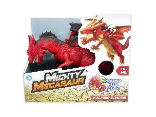 Dragon-i,hatalmas Megasaurus,lépdelő és üvöltő -sárkány