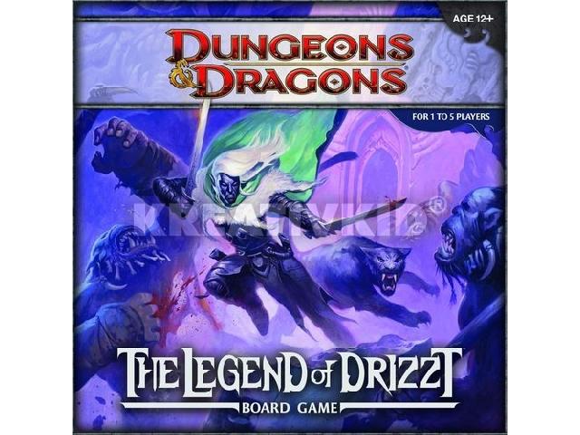 Dungeons & Dragons: The Legend of Drizzt - társasjáték